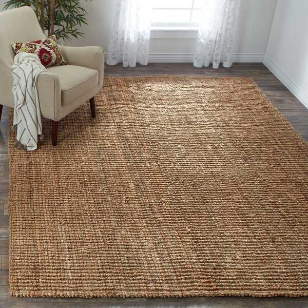 Safavieh Casual Natural Jute Hand-Woven Chunky Thick Rug - 8' x 10'