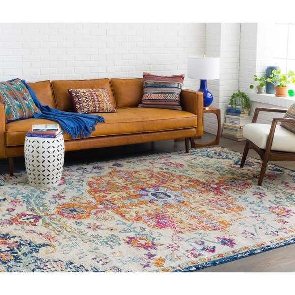 Caressa Bright Vintage Boho Area Rug - 5'3' x 7'3'