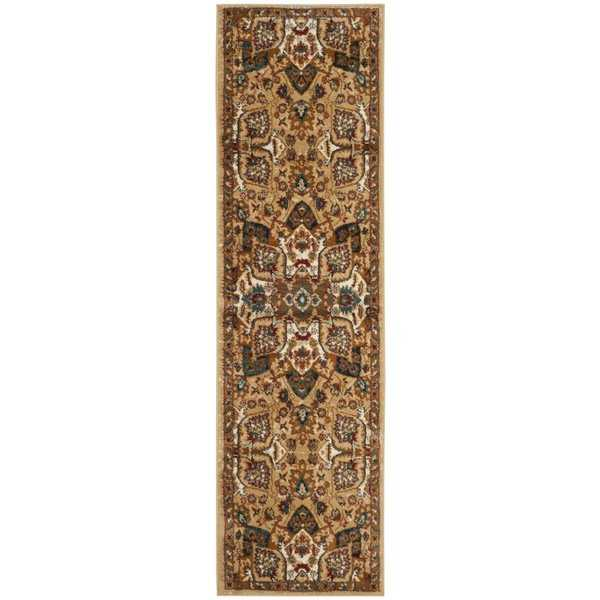 Safavieh Summit Beige / Ivory Area Rug Runner - 2'3' x 8'